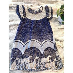 Tops - ModCloth Silk Dress/Tunic